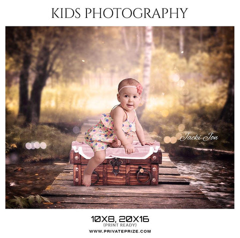 Kids photography photoshop template