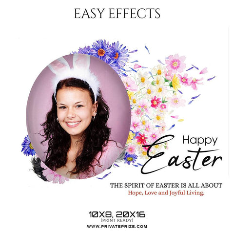 Easter photography templates