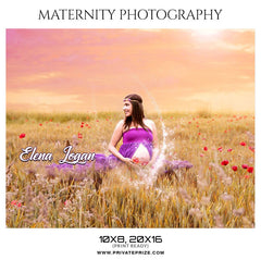 top 5 nurturing maternity photography templates