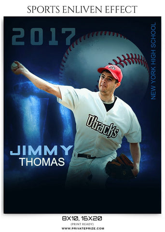 Jimmy Thomas- Sports Enliven Effect Template