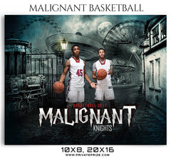Malignant Knights – Themed Sports Photography Templates