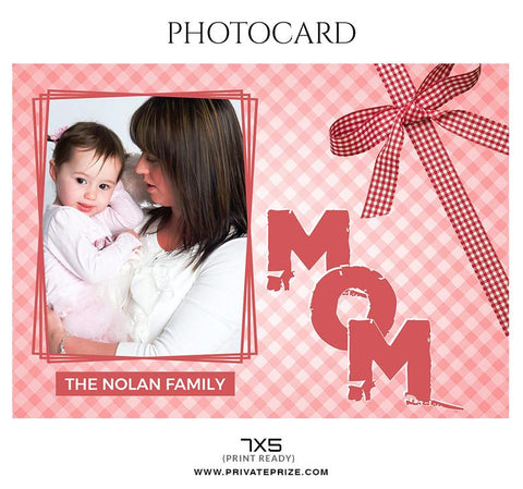 Mother's day photography template