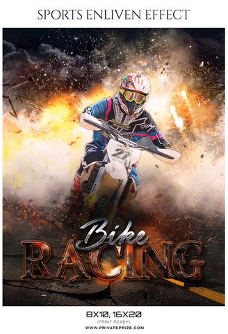 Racing photography templates