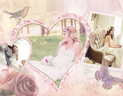 Best Thing Wedding Collage Template
