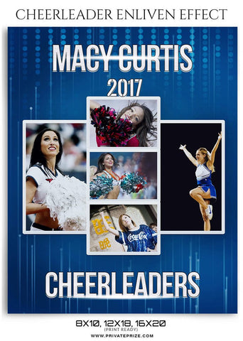 Macy Curtis – Cheerleader Enliven Effect Template