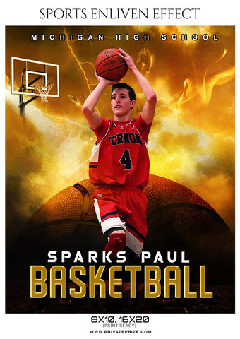 Basketball Sport Photography Template