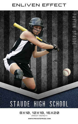 Staude High School Template- Enliven Effect Sports Photography Template