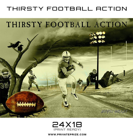 Thirsty For Action - Themed Sports Template