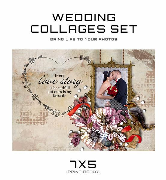Wedding Collage Set