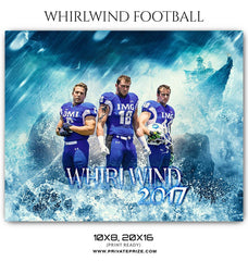 Whirlwind Themed Sports Template
