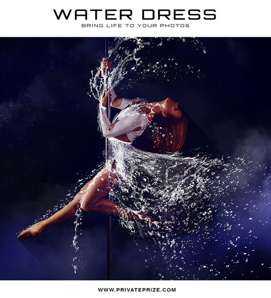 Water Dress Brush - Alice - Photography Photoshop Template