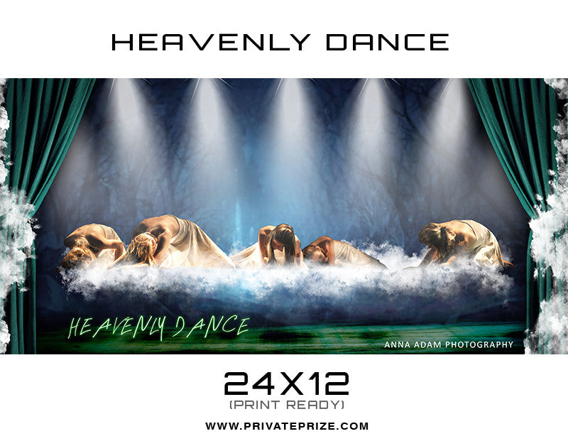 Heavenly Dance Photography - Enliven Effects Photoshop Template - Photography Photoshop Templates