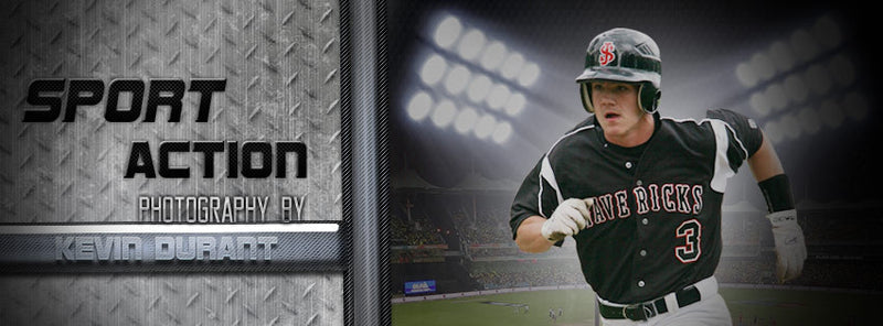 Facebook Timeline Cover Sports Action Photography - Photography Photoshop Templates