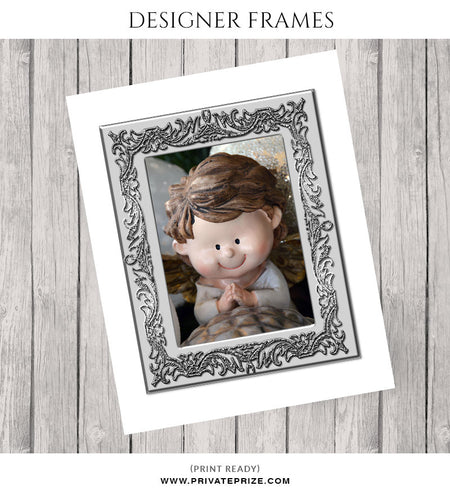 Grey Frame - Embellish Overlay - Photography Photoshop Template