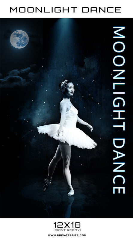 Moonlight Dance Photography - Enliven Effects Photoshop Template - Photography Photoshop Templates