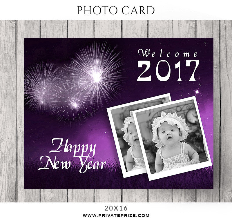 CutiePie Christmas-Photocard - Photography Photoshop Templates