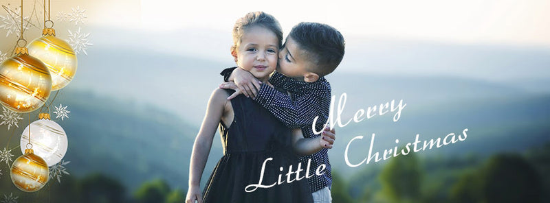 Merry Little Christmas Facebook Timeline Cover - Photography Photoshop Templates