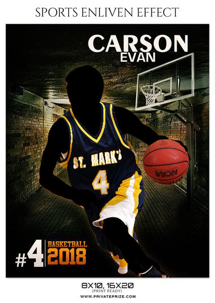 CARSON EVAN-BASKETBALL- SPORTS ENLIVEN EFFECT