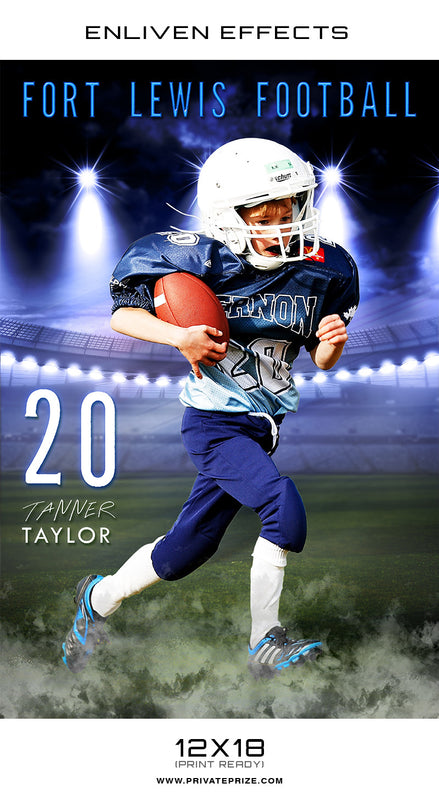 Fort Lewis High School Sports - Enliven Effects - Photography Photoshop Templates