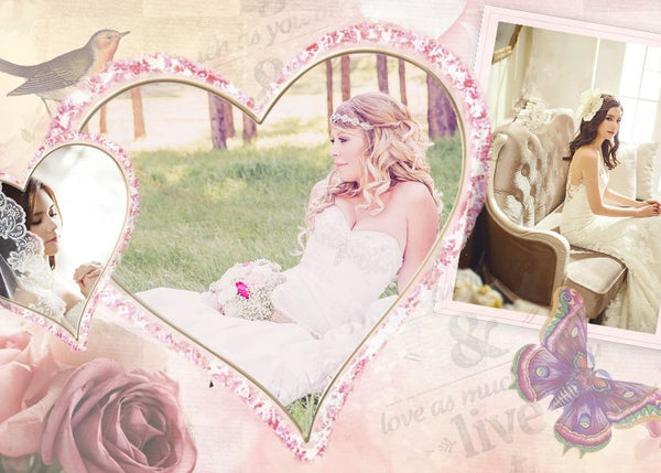 Wedding Collage Set -Best Thing - Photography Photoshop Templates