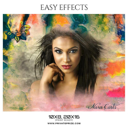 Nara Curtis - Easy Effects - Photography Photoshop Template