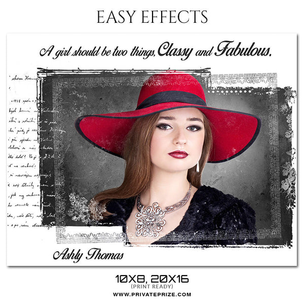 ASHLY THOMAS - EASY EFFECTS