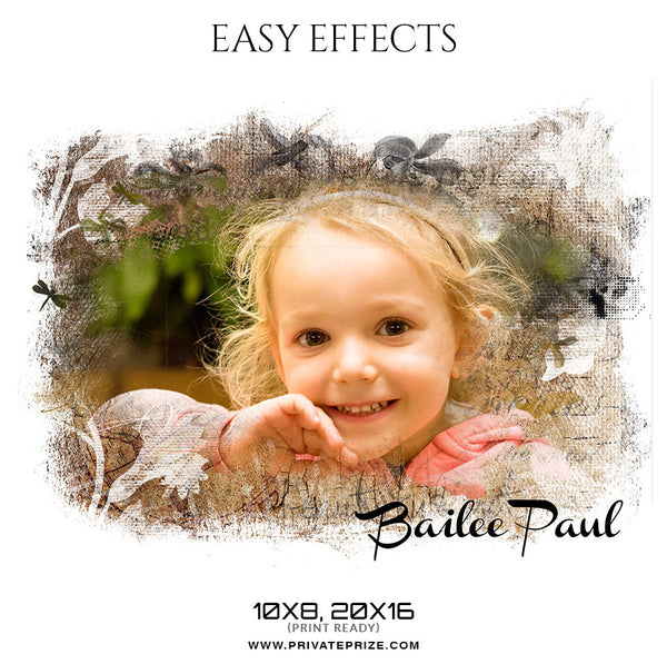 Bailee paul - Easy Effects Kids Photography