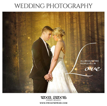 Wedding Photography photoshop templates - PrivatePrize - Photography Templates