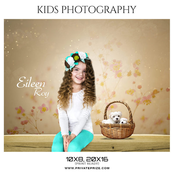 Eileen Roy Kids Photography Photoshop Templates - Photography Photoshop Template