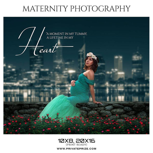Calista Roy - Maternity Photography Templates