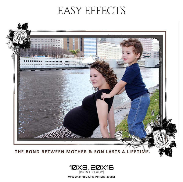 Family - Easy Effects - Photography Photoshop Template