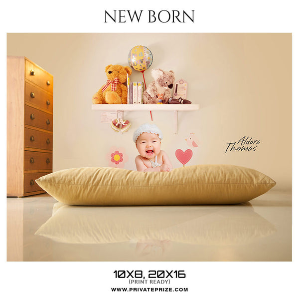 Aldora Thomas New Born Photography Photoshop templates - Photography Photoshop Template