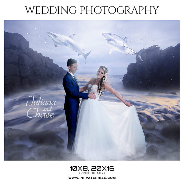 JULIANA AND CHASE- WEDDING PHOTOGRAPHY - Photography Photoshop Template