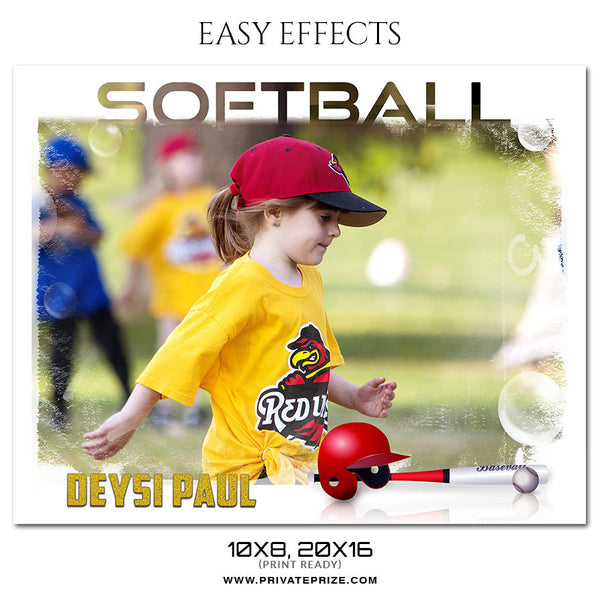 EASY EFFECTS KIDS SPORTS PHOTOGRAPHY
