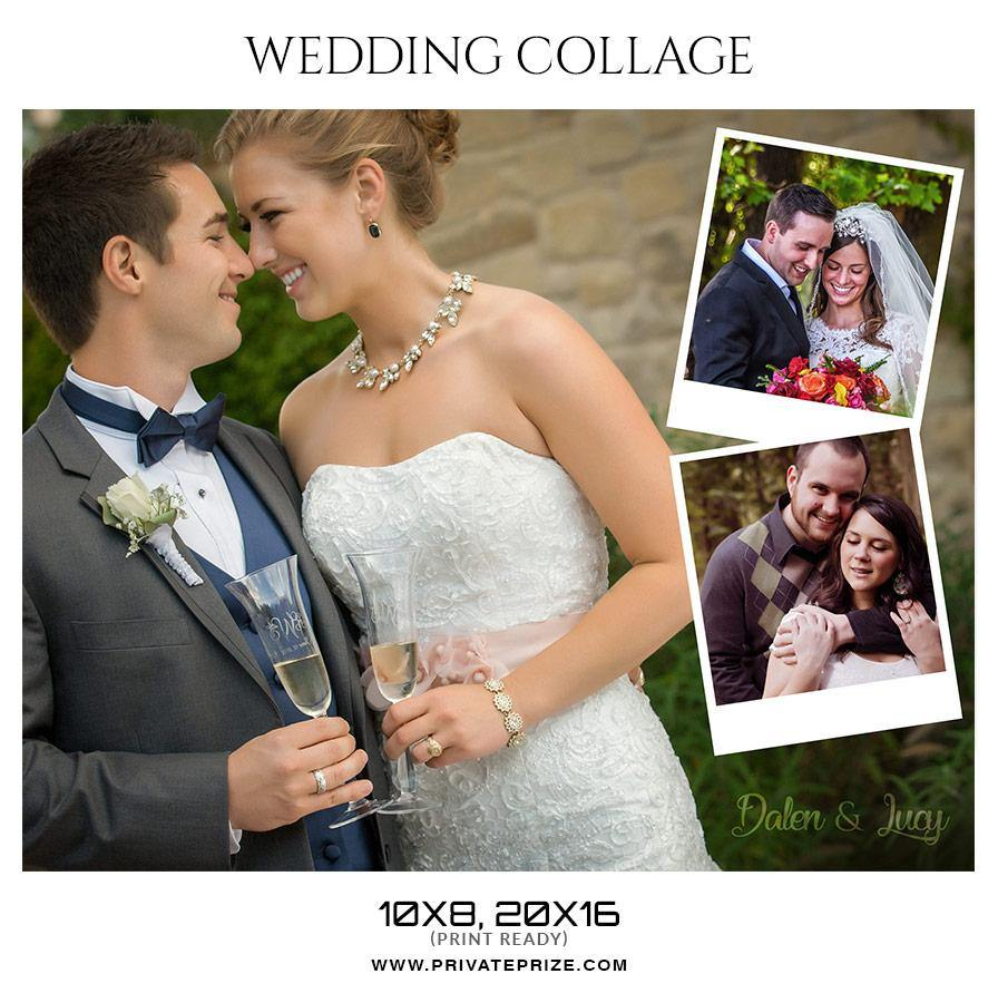 Dalen lucy wedding collage dalen lucy wedding collage photography photoshop template maxwellsz