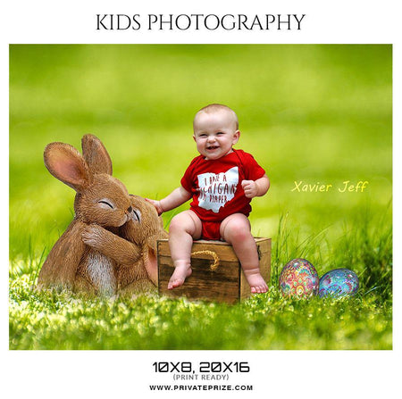 Xavier Jeff - Kids Photography Photoshop Templates - Photography Photoshop Template