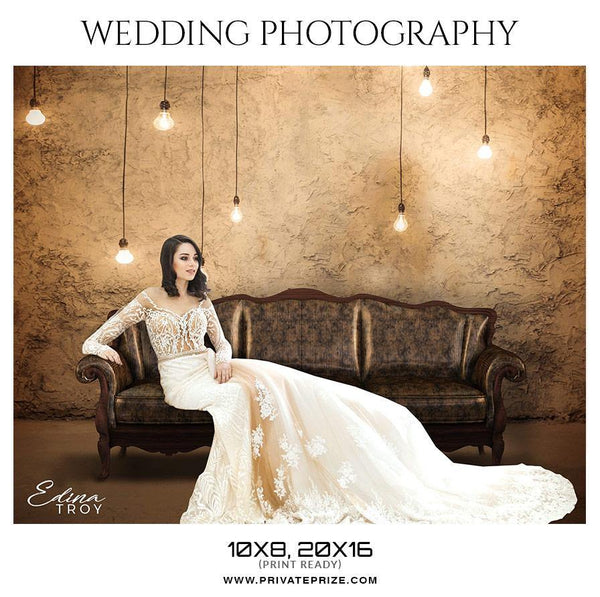 Edina Troy - Wedding Photography - Photography Photoshop Template