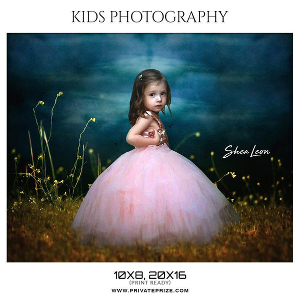 Shea Leon - Kids Photography Photoshop Templates - Photography Photoshop Template