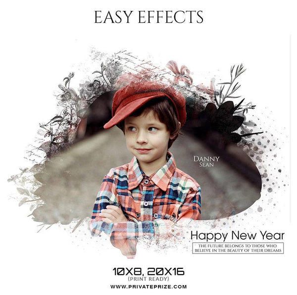Danny Sean - Easy Effects - Photography Photoshop Template