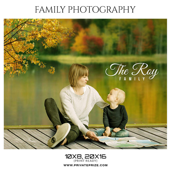 Family Collages Photography Photoshop Template