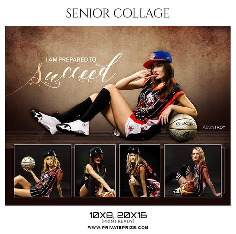 Alicia Troy - Senior Collage Photography Template