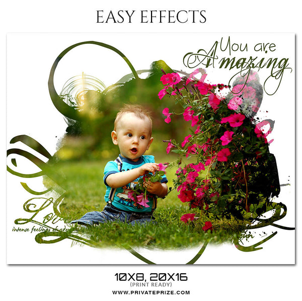 You Are Amazing - EASY EFFECTS KIDS PHOTOGRAPHY