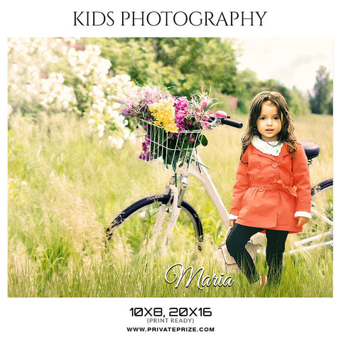 MARIA - KIDS PHOTOGRAPHY - Photography Photoshop Template