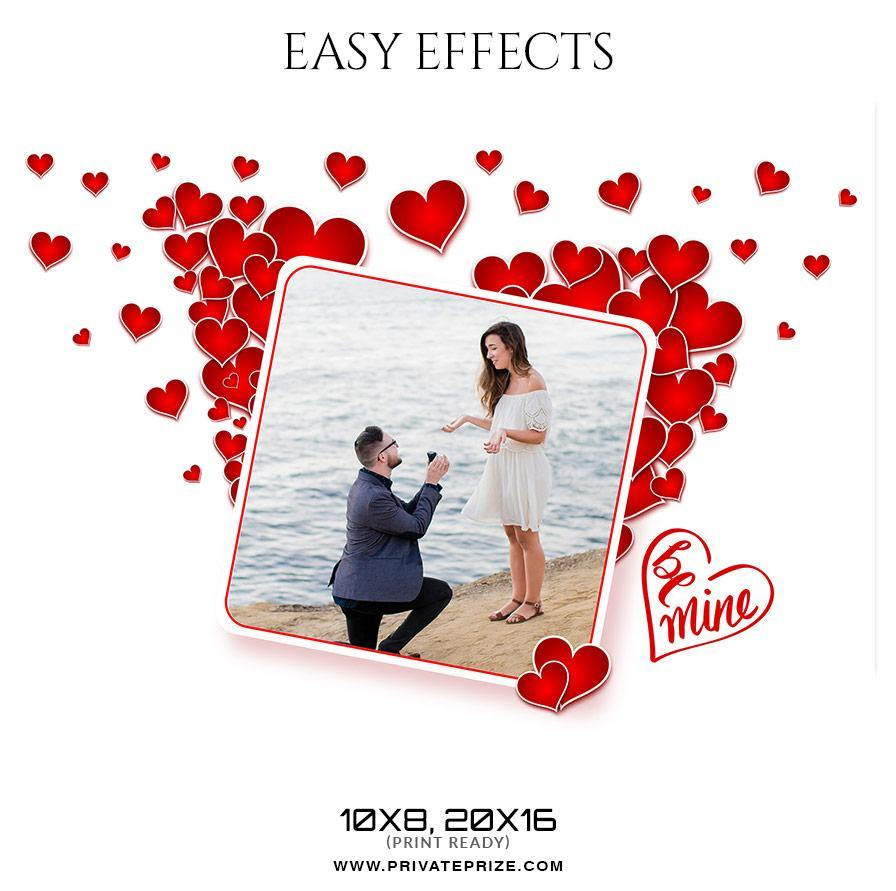Be Mine - Valentines Easy Effects Templates