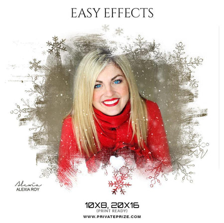 Alexia Roy - Easy Effects - PrivatePrize - Photography Templates