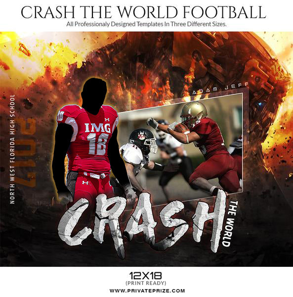 Crash the World Themed Sports Template