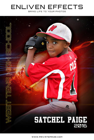 Sports Baseball Photography- Enliven Effects - Photography Photoshop Templates