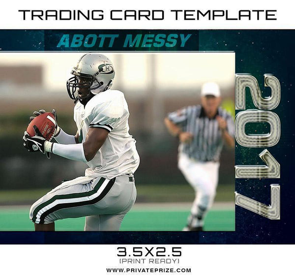 Abot Sports Trading Card Template - Photography Photoshop Templates