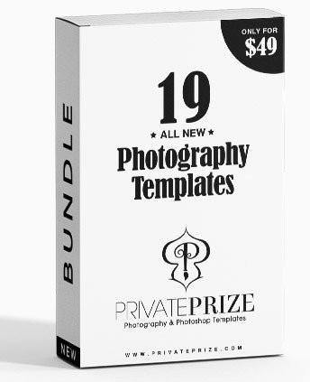 19 All New Selected Designs Bundle (Week 4 - Part 1) - Photography Photoshop Template