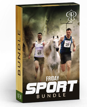 Friday Sports Bundle - Photography Photoshop Template